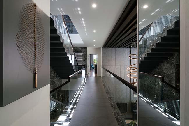 Mẫu thiết kế biệt thự sang trọng hiện đại tại quận 6