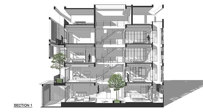 Nhà phố Trần Đại Nghĩa / I.House