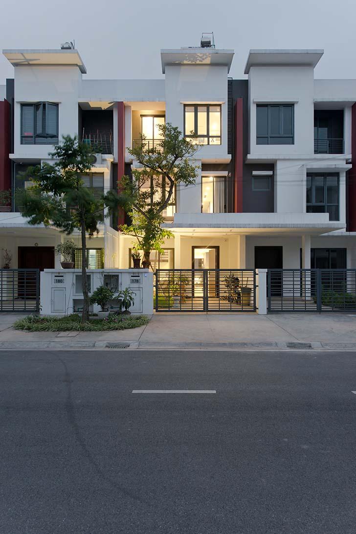 Mẫu thiết kế nhà phố đẹp tại khu đô thị Gamuda Garden