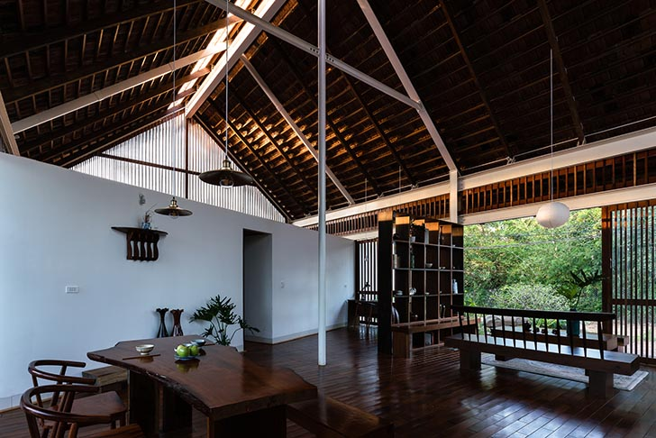 Mẫu nhà đẹp tại Daklak kết nối con người và thiên nhiên