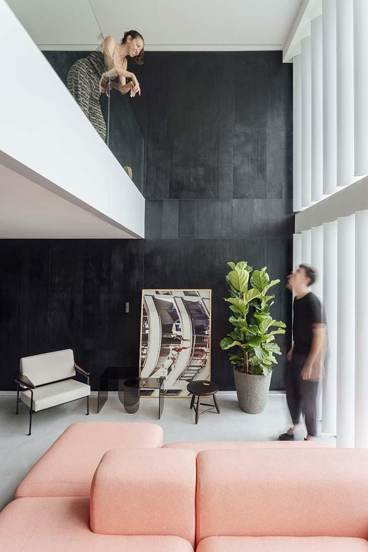 Thiết kế căn hộ gác lửng đẹp 59m2