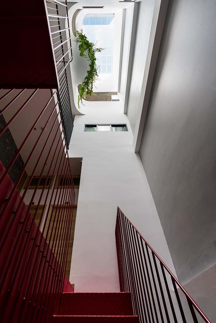 Kiến trúc tòa nhà căn hộ cao 7 tầng tại Vũng Tàu