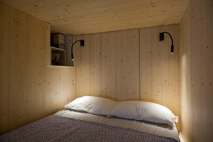 Căn hộ 35m2 với thiết kế mộc mạc hiện đại | Nhadep-Nblog.com