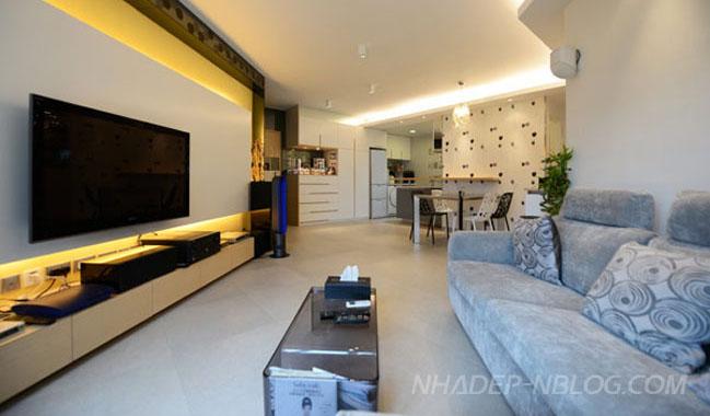 Mẫu nhà đẹp với thiết kế đương đại ở Hong Kong