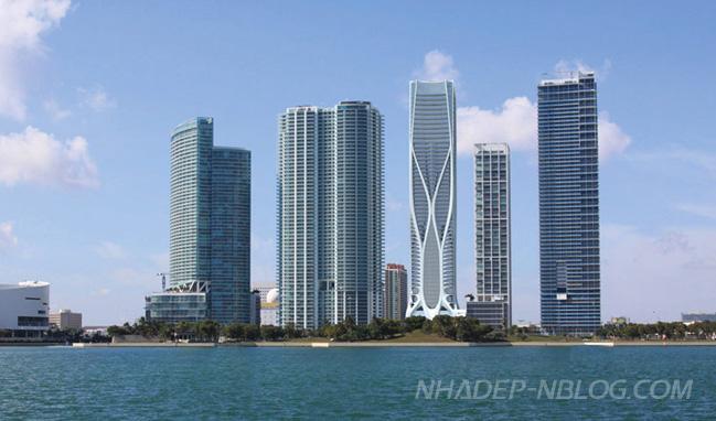 Ngắm tòa tháp One Thousand Museum tại Miami