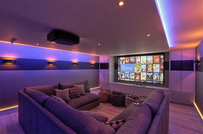 Image result for phong chiếu phim tại nhà