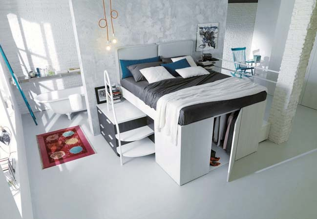 Giải pháp tuyệt vời cho phòng ngủ nhỏ