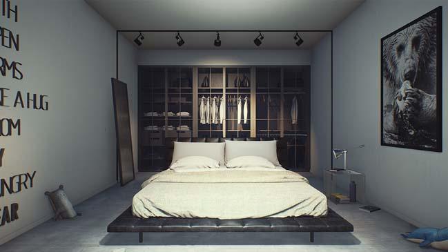 30 mẫu thiết kế phòng ngủ đẹp hiện đại 2017