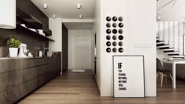 Thiết kế nội thất nhà đẹp 2 tầng với phong cách hiện đại sang trọng (1)