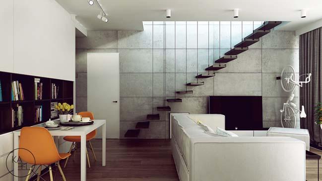 Thiết kế nội thất nhà đẹp 2 tầng với phong cách hiện đại sang trọng (3)