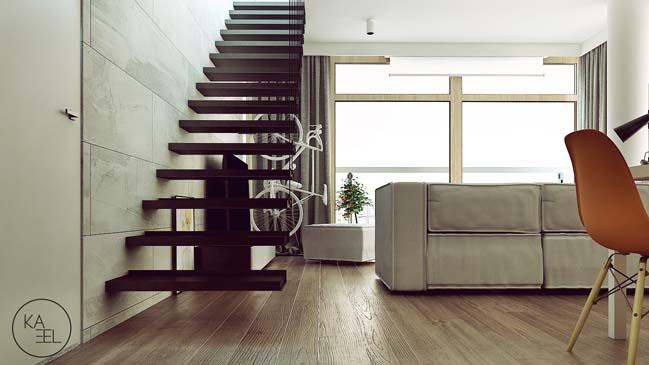 Thiết kế nội thất nhà đẹp 2 tầng với phong cách hiện đại sang trọng (4)