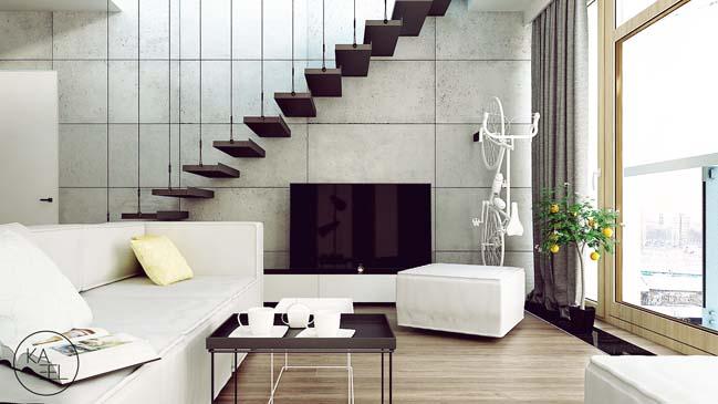 Thiết kế nội thất nhà đẹp 2 tầng với phong cách hiện đại sang trọng (5)