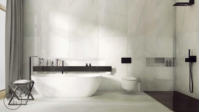 Thiết kế nội thất nhà đẹp 2 tầng với phong cách hiện đại sang trọng (7)