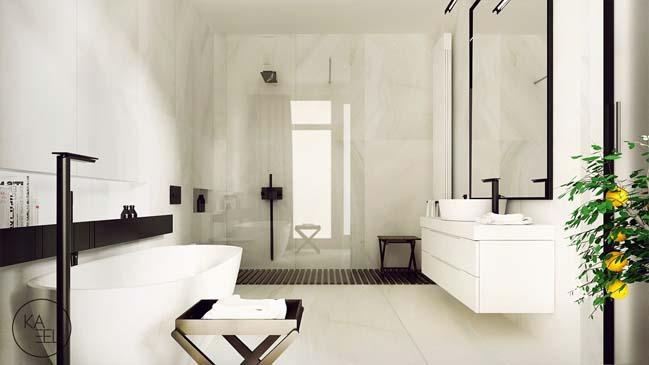 Thiết kế nội thất nhà đẹp 2 tầng với phong cách hiện đại sang trọng (8)