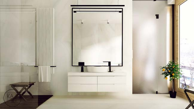 Thiết kế nội thất nhà đẹp 2 tầng với phong cách hiện đại sang trọng (9)