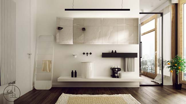 Thiết kế nội thất nhà đẹp 2 tầng với phong cách hiện đại sang trọng (11)