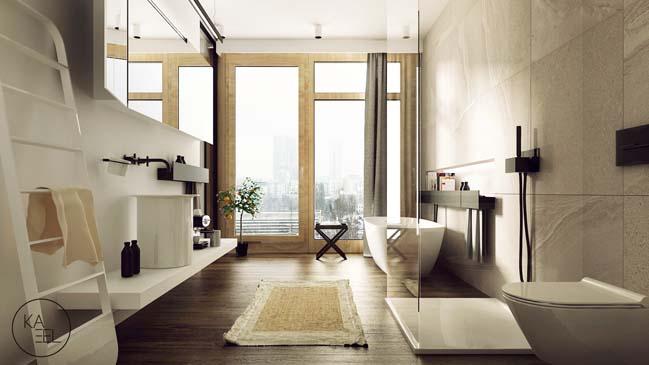 Thiết kế nội thất nhà đẹp 2 tầng với phong cách hiện đại sang trọng (12)