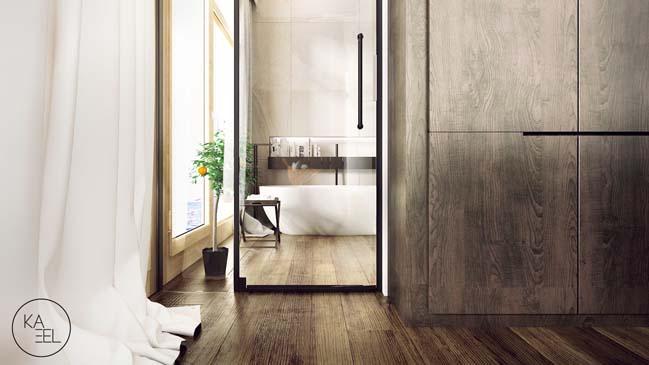 Thiết kế nội thất nhà đẹp 2 tầng với phong cách hiện đại sang trọng (13)