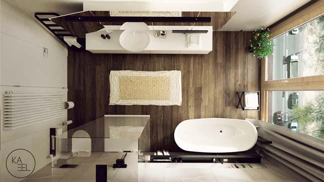 Thiết kế nội thất nhà đẹp 2 tầng với phong cách hiện đại sang trọng (14)