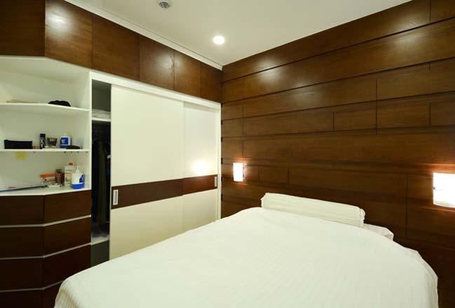 Cải tạo căn hộ 68m2 với 2 phòng ngủ