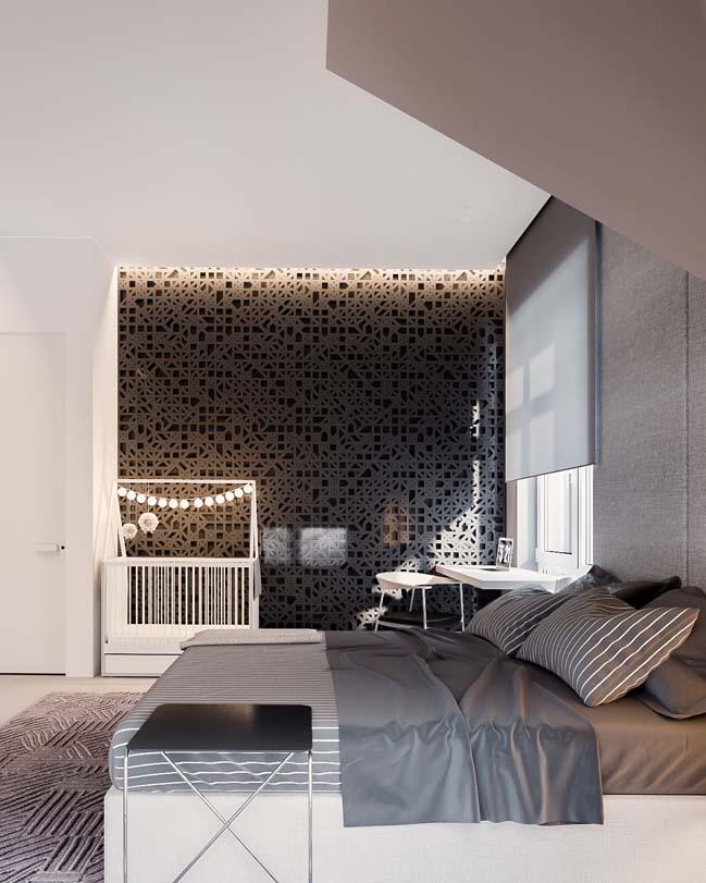 Mẫu thiết kế phòng ngủ đẹp hiện đại 2017