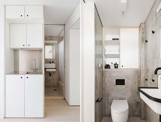 Mẫu thiết kế nhà nhỏ đẹp 24m2